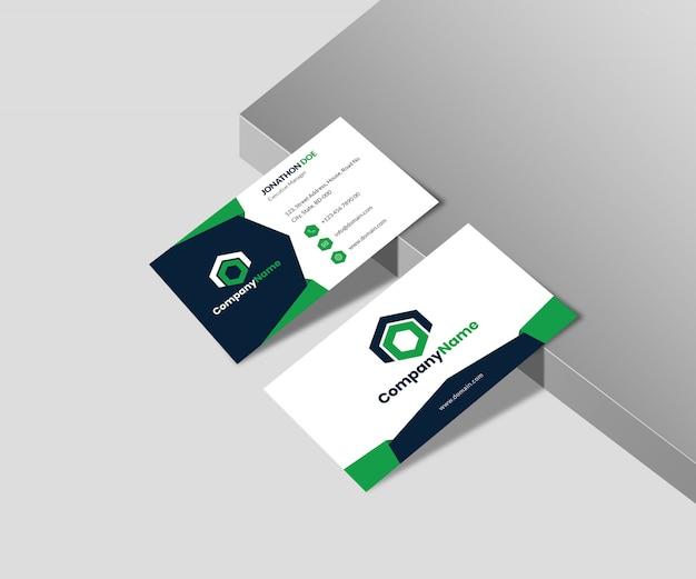 Makieta wizytówek agencji
