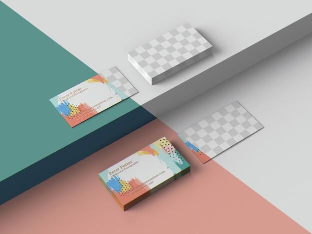 Makieta wizytówek