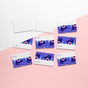 Makieta wizytówki