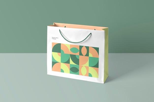Makieta z torbą na zakupy
