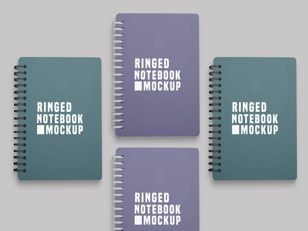 Makieta zestawu notebooków