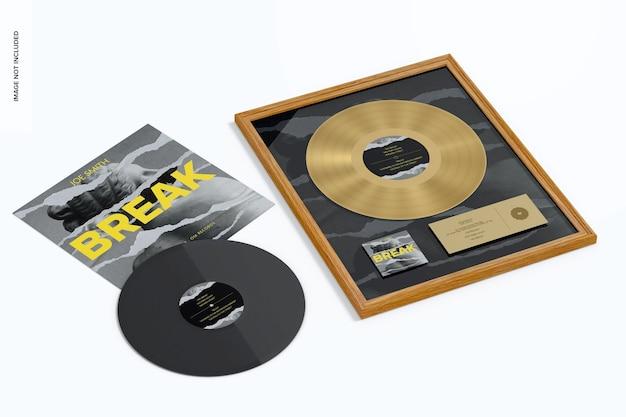 Makieta złotego albumu, perspektywa
