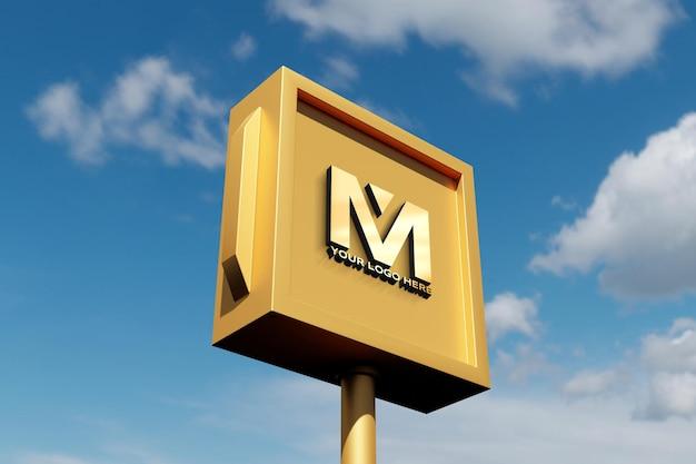 Makieta znaku logo