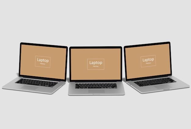 Makiety laptopów