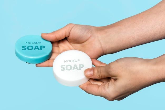 Makiety mydła do mycia rąk