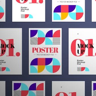 Makiety plakatów