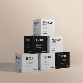 Makiety pudełkowe