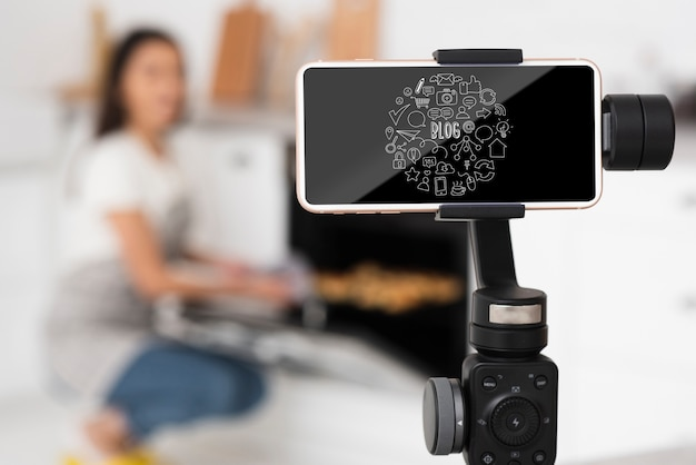 Makiety sprzętu do blogowania