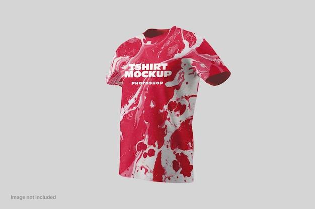 Makiety t-shirtów z krótkim rękawem