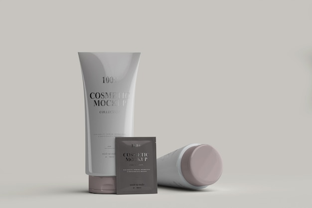 Makiety tuby kosmetycznej