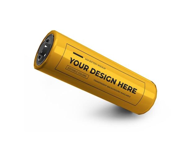 Mały projekt makiety 3d baterii