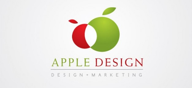 Marketing darmowy szablon vector logo