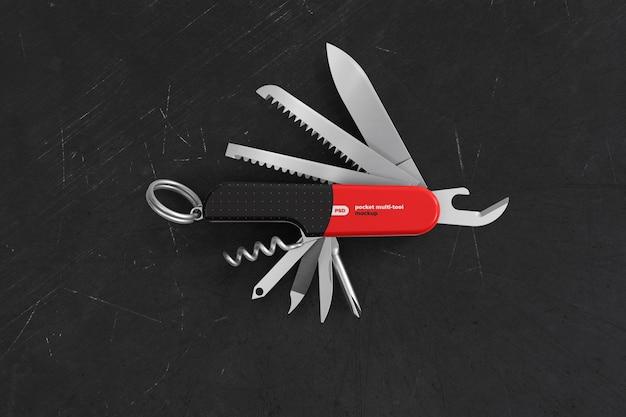 Markowa otwarta makieta narzędzia wielofunkcyjnego