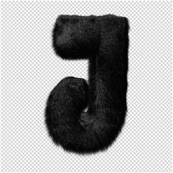 Marmurowe litery renderowania 3d