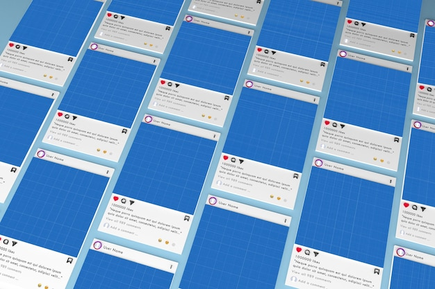 Media Społecznościowe Premium Psd
