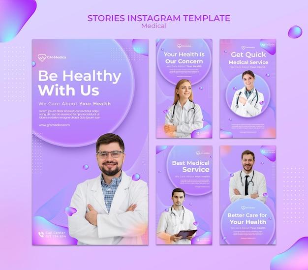 Medyczne historie w mediach społecznościowych