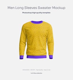 Męska bluza z długim rękawem