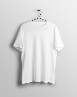 Męska długa koszulka z wycięciem pod szyją