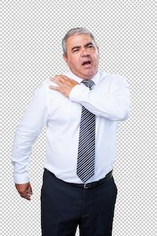 Mężczyzna o ból ramion