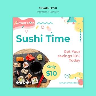 Międzynarodowy kwadratowy dzień sushi