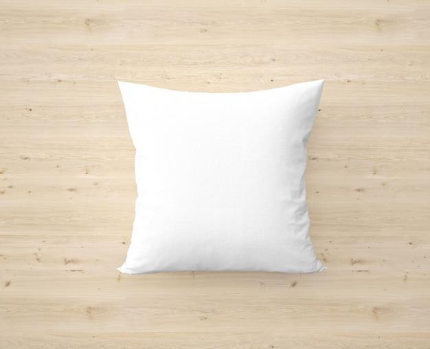 Miękka biała poduszka