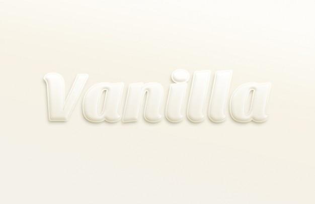 Miękkie typografia efekt tekstu psd