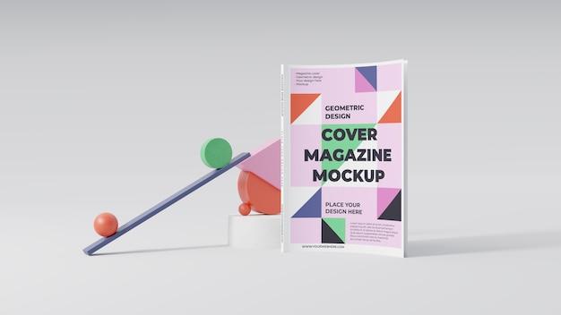 Minimalistyczna aranżacja makiety magazynu