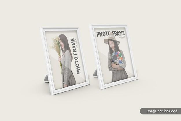 Minimalistyczna makieta ramki na zdjęcia