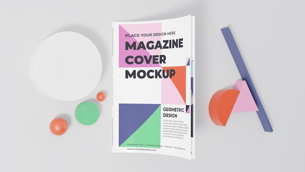 Minimalistyczny asortyment makiet magazynu
