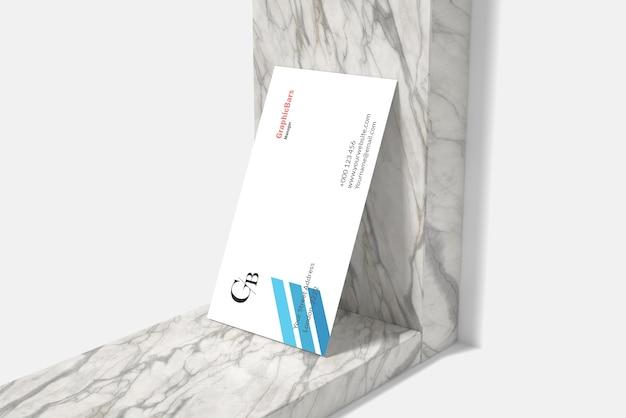 Minimalna makieta wizytówki