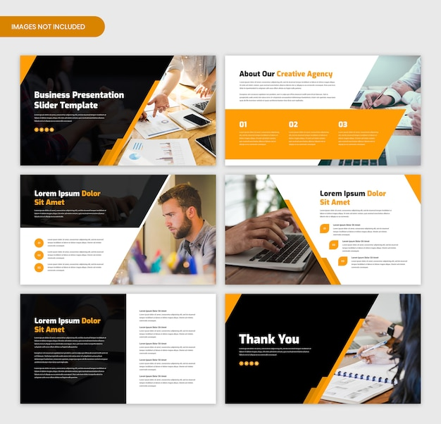 Minimalny szablon suwaka prezentacji biznesowej