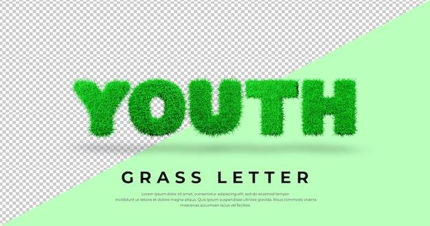 Młodość słowem list trawy