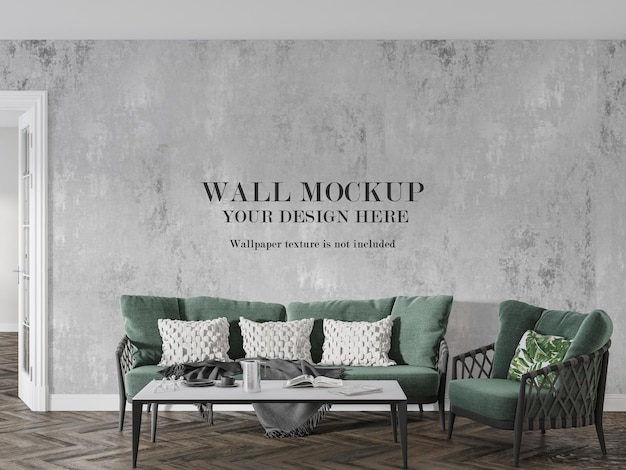Mock up wall for your creative work