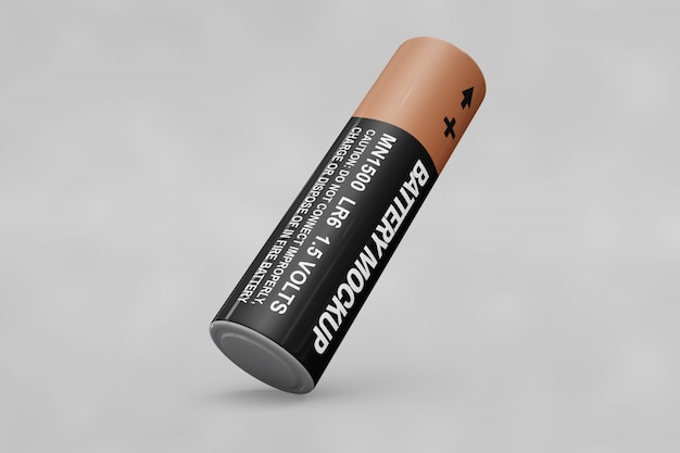 Mockup baterii