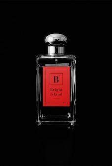 Mockup butelki perfum
