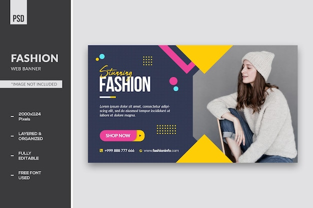 Modowy baner internetowy