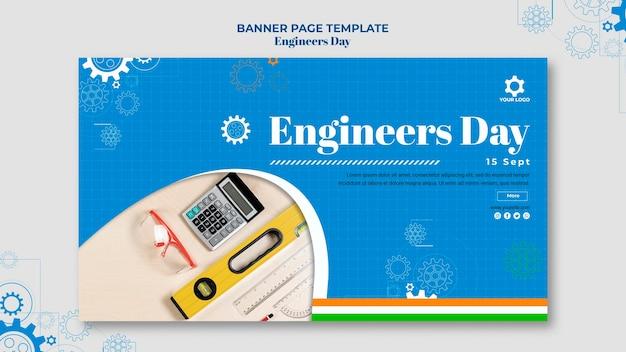 Motyw transparentu dnia inżynierów