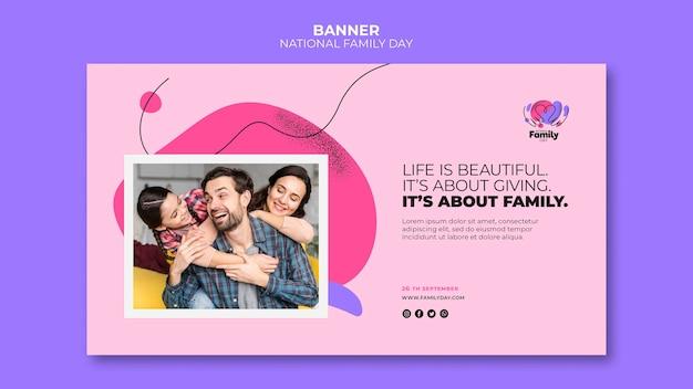 Motyw transparentu krajowego dnia rodziny