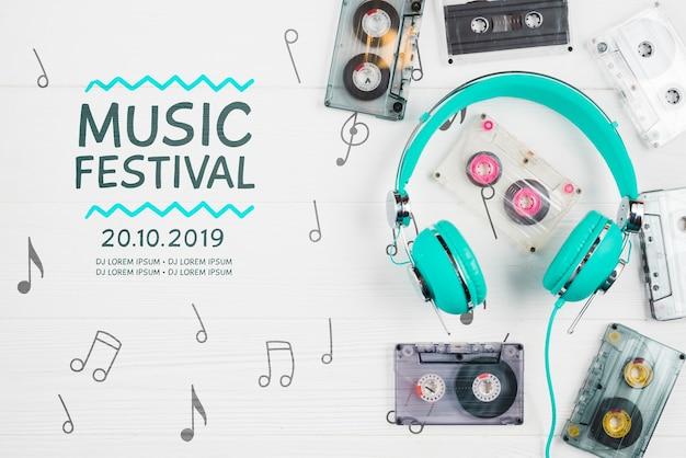 Muzyk nowoczesne i współczesne urządzenia