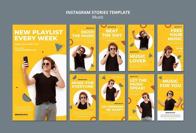Muzyka dla wszystkich opowiadań na instagramie