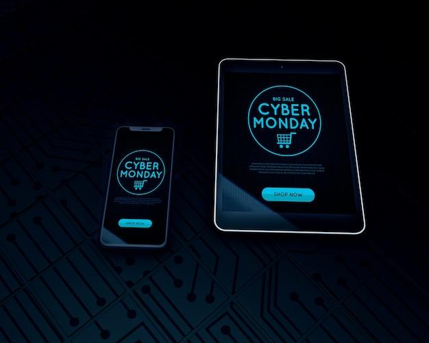 Najlepsza sprzedaż elektroniki cyber poniedziałek