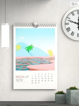 Najnowsza makieta kalendarza