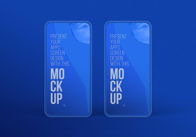 Najnowszy makieta pro telefonu do prezentacji grafiki premium psd