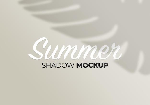 Natura monstera pozostawia letnią makieta cienia tła
