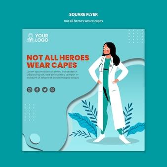 Nie wszyscy bohaterowie noszą ulotki peleryny