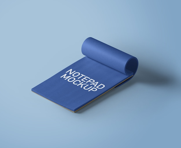 Notatnik-makieta