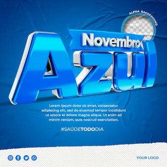 Novembro azul w brazylii po instagramowej świadomości raka prostaty