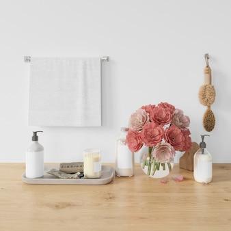 Nowoczesna dekoracja łazienki