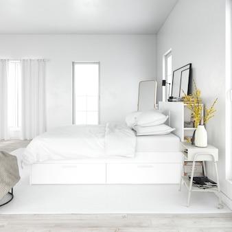 Nowoczesna i elegancka sypialnia