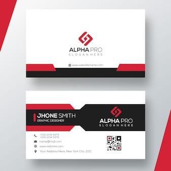 Nowoczesna karta biznesowa